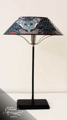 Design -jungle eye- Kollektion: TREASURY sapphirine - Tischlampe Unikat © ELISA MELANZANI BERLIN