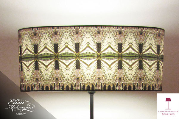 Design -dark galloon- Kollektion: TREASURY topaz - Stehlampe Unikat © Lampenmanufaktur Astrid Hertz & ELISA MELANZANI BERLIN
