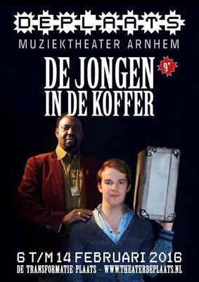 De Jongen in de koffer, muziektheater de Plaats, 2016. Regie: Albert Hoex