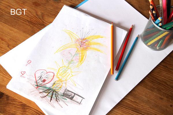 """Bild- und Gestalttherapie - """"Die Blume"""""""