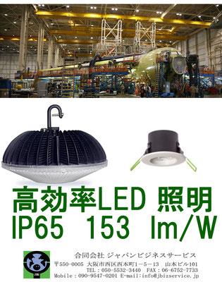 LED高天井照明 250Wから700Wの水銀灯やHIDランプの置換でコストダウンできます。