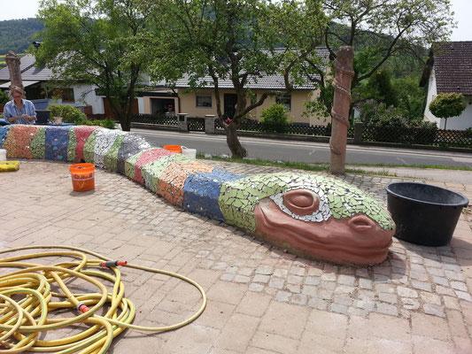 Schule Happurg - Schlangenprojekt mit Roswitha Farnsworth