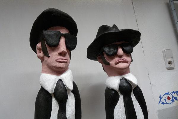 """Blues Brothers aus der Serie """"STARS & STERNCHEN"""" von Roswitha Farnsworth"""