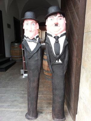 """Laurel & Hardy aus der Serie """"STARS & STERNCHEN"""" von Roswitha Farnsworth"""