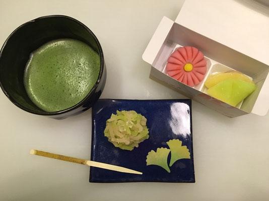 9月 神戸女学院大学煎茶道部との合同レクリエーション①