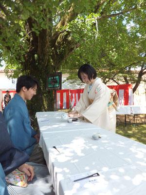 5月 バザー茶会②