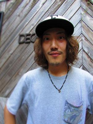 ■Eikichi Wakasa:けん玉とBMXをスタイリッシュに操るBMX Shop「Decade」のカリスマスタッフ Eikichi氏。その独特なStyleはいつ見てもCoolです。_PHOTO@HARAJUKU [DECADE]