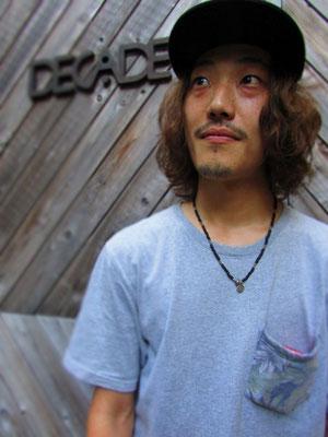 ■Eikichi Wakasa:けん玉とBMXをスタイリッシュに操るBMX Shop「Decade」のカリスマスタッフ Eikichi氏。その独特のStyleはいつ見てもCoolです。_PHOTO@HARAJUKU [DECADE]