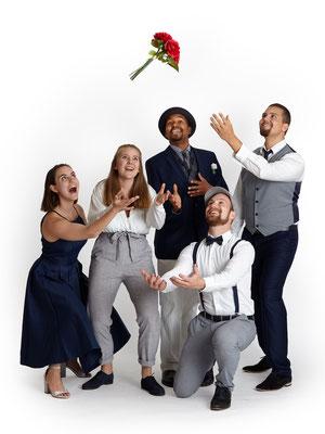 B'n'T gestaltet eure Hochzeit und macht sie unvergesslich mit Live-Musik in Form von a cappella Gesang, 2