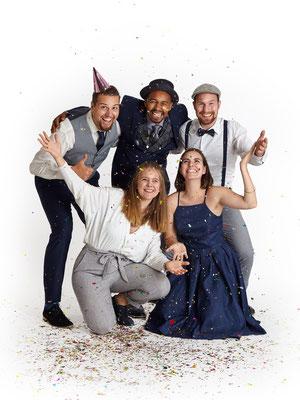 B'n'T in Partystimmung für Geburtstage, Hochzeiten und Firmenfeiern, a cappella Musik vom Feinsten, 1