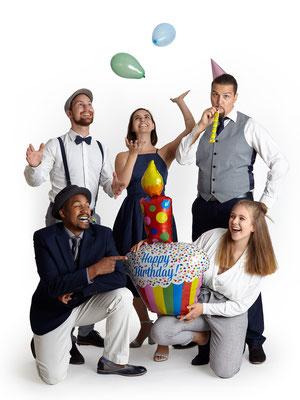 B'n'T in Partystimmung für Geburtstage, Hochzeiten und Firmenfeiern, a cappella Musik vom Feinsten, 2