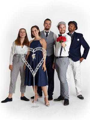 B'n'T gestaltet eure Hochzeit und macht sie unvergesslich mit Live-Musik in Form von a cappella Gesang, 1