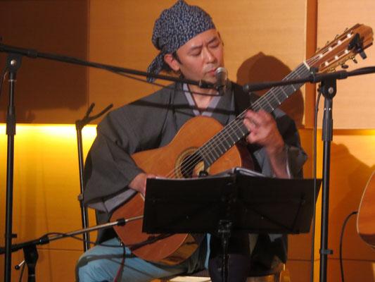 ✤´* 【御出演】*´✤♪♫♥  ღ∞♪ あらたに葉子様 with 東京カンソン楽団様(ガットギター 上村純様)*:☆・∴・∴・∴