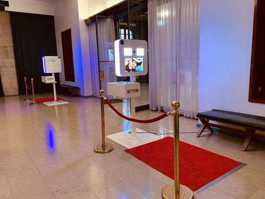 Installation MCSono - Borne Selfie (@halleauxtoiles Rouen)