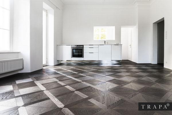 Hersteller TRAPA © - Parkettboden/Bodendielen