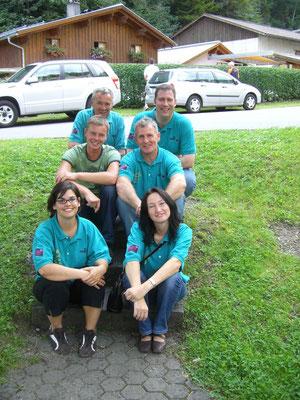 Das Team - Alexandra, Sabine, Reinhard, Willi, Patrick und Kurt