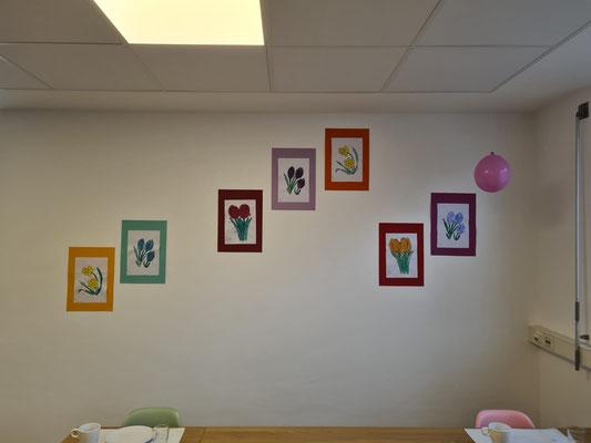 Kunstwerke der Gäste