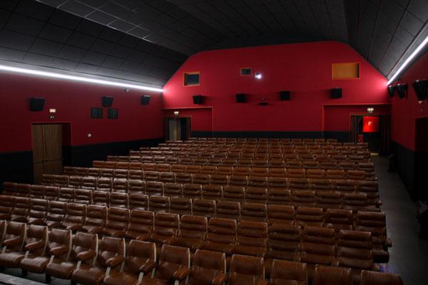 Salle cinéma nouveau look ( possibilité de location )