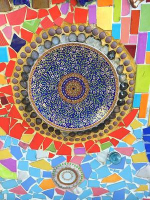 Schöne Mosaik