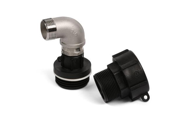 Dry-Mate Adapter mit Fassverschraubung
