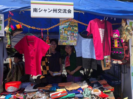 毎年ツアーでミャンマーに来ていただいている日本大学様から学生たちがボランティアに来てくれました!