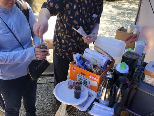 南シャン州の豆を使ったアイスコーヒー