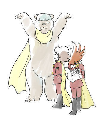 1/14  ベルリンのシンボルは熊