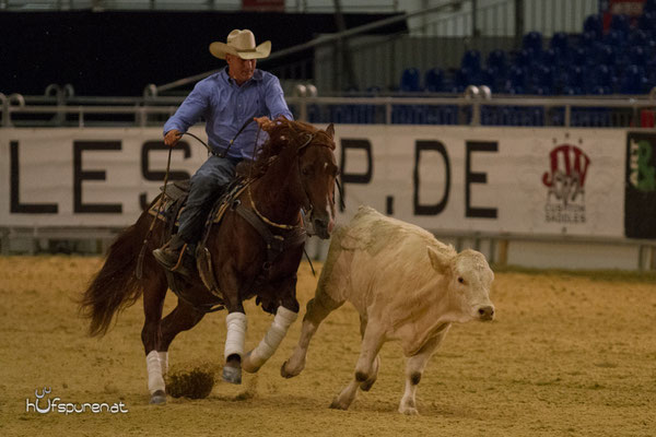 Cow-Horse: Clinic Grischa Ludwig und Markus Schöpfer,  Americana 2015