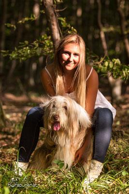 Hundefotoshooting Winerwald: Beardes Collie