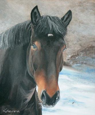 """Tornado"", Acrylic on Canvas, 60x50, 2014"