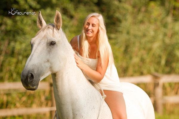 Pferdefotoshooting Mostviertel, Niederösterreich mit Springpferd Tarik und Halsring