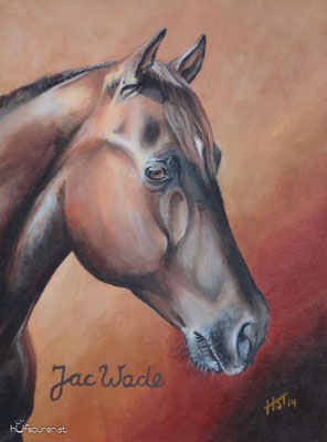 """Jac Wade"", Acrylic on Canvas, 40x30, 2014"