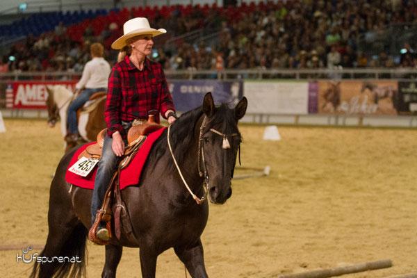 Eitan Beth-Halachmy (USA) und H.P. Kind : Cowboy Dressage Americana 2015