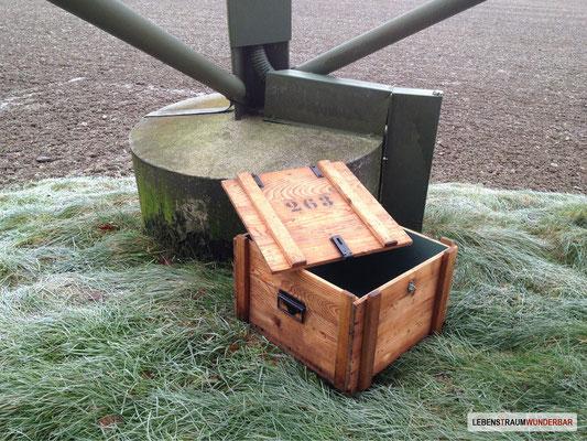 Munitionskiste Walther - Nachschub klar