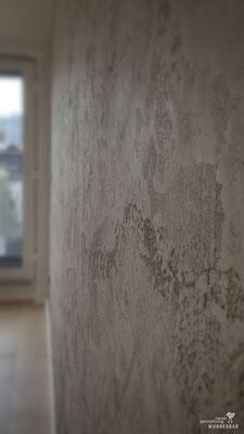 CloseUp Wand: Steinige Struktur