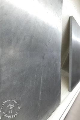 Silberbeschichtung, zB für Küchenfronten