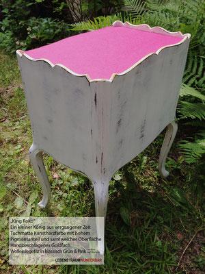 Möbelstück mit Detailreichtum - Einlegefilz je nach Laune