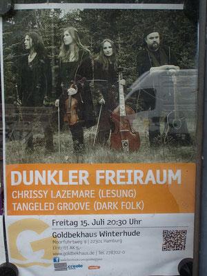 Das Plakat, mit dem das gesamte Gelände gepflastert war ;-)