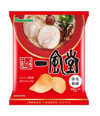 ポテトチップス 一風堂 赤丸新味