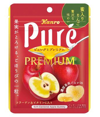 『ピュレグミプレミアム 蜜入りりんご』