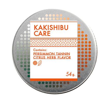 柿渋ケアキャンディ缶