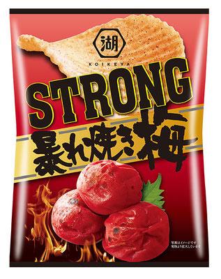 KOIKEYA STRONG ポテトチップス 暴れ焼き梅