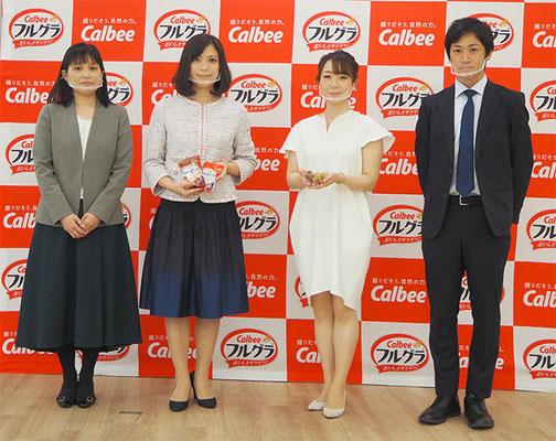 左から網干部長、古谷氏、川井氏、狩野氏