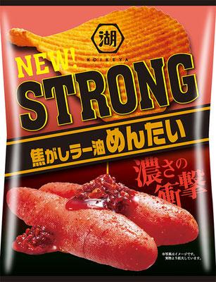 KOIKEYA STRONG ポテトチップス 焦がしラー油めんたい