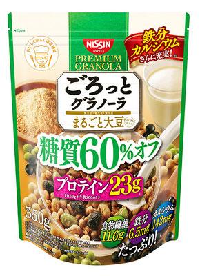 ごろっとグラノーラ 糖質60%オフ まるごと大豆