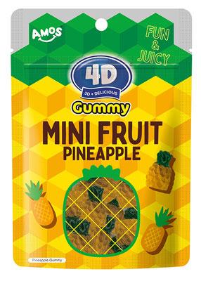 4Dグミ ミニフルーツパイナップル