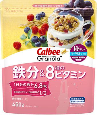 Granola+ 鉄分&8種のビタミン