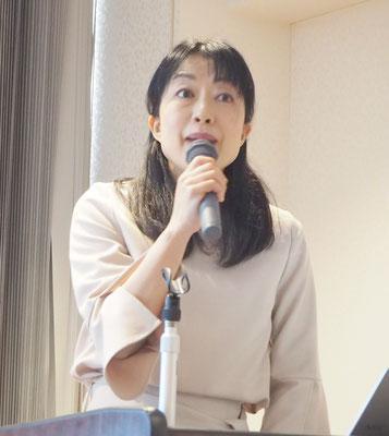 江崎グリコ 健康科学研究所 健康・おいしさ研究グループの宅見央子リーダー