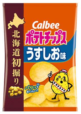 北海道初掘りポテトチップス うすしお味