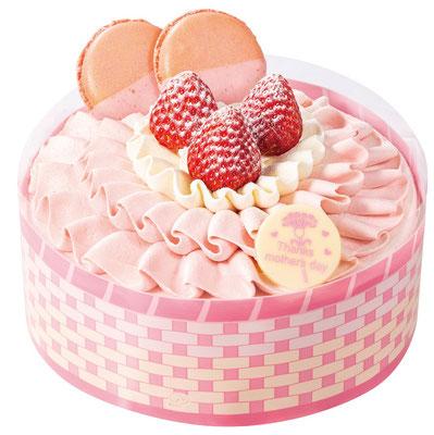 不二家洋菓子店『母の日 カーネーションケーキ』